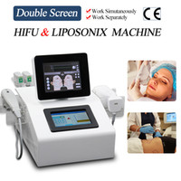 2021 Portable hifu beauty equipment ultrasound wrinkle removal face lifting liposonix body slimming machine CE approved