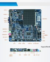Wholesale laptop motherboard mini sata resale online - J1900 Quad Core Ultra Mini PC Motherboard Integrated Graphics DDR3