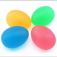 Wholesale power ball exercise for sale - Group buy Itstyle Silicone Egg Massage Hand Expander Gripper Strengths Stress Relief Power Ball Finger Exercise Fitness Training sqcUtW pingtoy