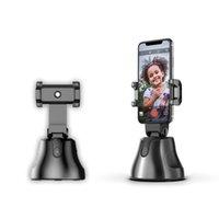 Wholesale track mobile phones online – Mobile Phone Holder For Degree Rotation Intelligent Platform Face Recognition Object Tracking And Shooting Rotating Holder