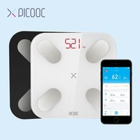 Discount mi body fat scale PICOOC Mi Bathroom weight Scales Floor Digital Body Fat Scales Bluetooth Electronic Outdoor mini Smart Weighing Scales with APP T200117