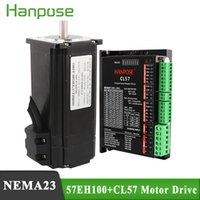 Wholesale servo driver motor for sale - Group buy NEMA23 Closed Loop Servo Driver EH100A4001 CL57 Drive sets A N m Stepper Motor x100mm for D printer accessories