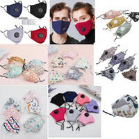 Wholesale best face masks resale online - Best Quality cycling mask Kids And Adult Face Masks With breathing valve Layer fashion trump face mask Dustproof Earloop Masks BWA2546