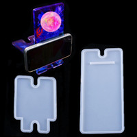 Handmade Phone Stands Silicone Molds Cell Phone Bracket Silicone Mold DIY Phone Holder Epoxy Resin Moulds Arts Crafts