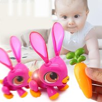 Wholesale electronic fox for sale - Group buy New Electric Toy For Children Interactive Induction Electronic Pet Fox Rabbit Dinosaur Shaped DIY D Puzzle baby Gift