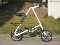 Folding bicycle, lightweight bicycle, fashion folding bicycle