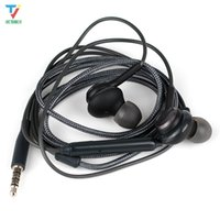 Wholesale samsung galaxy s6 ear phones for sale – best High Quality S8 Earbuds mm In Ear Stereo Earphone with Mic For Samsung Galaxy S6 S8 Samsung phones