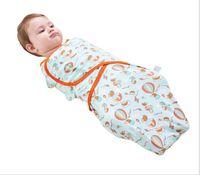 2pcs lot silkworm cocoon-style anti-shock baby cotton quilt swaddling towel-newborn baby sleeping bag Baby, Kids Sleeping Bags(S-M-L)
