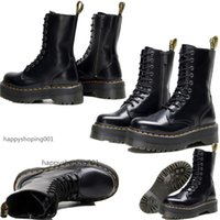 Wholesale doc martin boots for sale - Group buy Fashion Martin Boots Jadon Platform Shoes Doc Martens The High Quality Hole Boots US