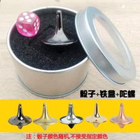 Wholesale small gyro resale online - Fingertip Gyroscope Dream Space Gyro No Resistance Small Whirlwind Creative Adult Toy Alloy Decompression Artifact ZDGI