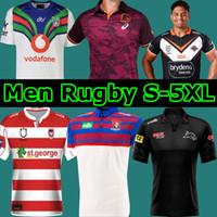 2021 Brisbane Broncos Horse souvenir KNIGHTS SINGLET Jaguar Warrior West Tiger Saint George Retro Rugby wear jerseys