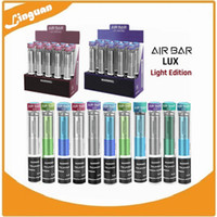 Air Bar Lux Light Edition Disposable Pod Device 1000 puffs 380 mAh battery 2.7ml Pre-filled Vapors Portable System Starter Kit Air Bar Stick