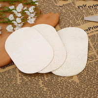 Natural Loofah Cleaning Towel Brush The Pot To Clean The Oil Pure Color Cloth Kitchen Dish Towel