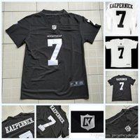ingrosso americano divisa set-IMWithKap Movie Jersey 7 Colin Kaepernick I'm with Wap American Football Jersey Black White Mens Womens Youth Doppi Numero di Nome cucito