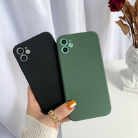 Wholesale iphone x cases for sale – best TPU Soft Phone Case for iPhone Pro MAX XS XR SE multi color Matte back cover for Samsung S20 plus