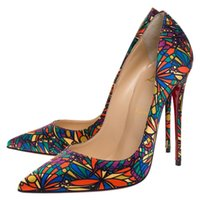 Wholesale louboutin heels resale online - Christian Luxury Bottom Louboutin CL new nude silk a002 pure color luxury cm10cm12cm wedding shoes high heels