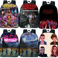 Wholesale toddler books for sale - Group buy New Stranger Things Small School Bags for Girls Boys Toddler Primary Kindergarten Backpack Kids Book Bag