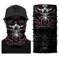 Wholesale spider man masks for sale - Group buy Spider Dinosaur Gorilla Tube Scarf Neck Gaiter d Printed Bandana Cycling Hiking Bicycle Men Women Half Face Cover Mask Headband bbyDuI