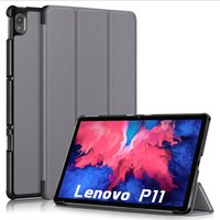 Wholesale case lenovo yoga for sale - Group buy Magnetic Trifold Leather Case Tablet Folio Fold for Lenovo Tab P11 TB J606F P11 pro TB J706F M10 HD nd Gen