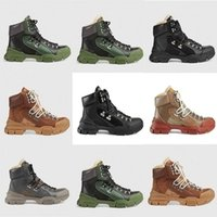 Wholesale snow boots women diamonds resale online - New Style Autumn and Winter Martin Women Men Boots Diamond Sports Shoes Snow boot Leather luxury short boots v6