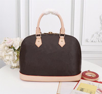Wholesale handles straps resale online - ALMA BB Handbag Golden Padlock Keys Toron Handles Fitted with Detachable Strap Charming Small Bag Perfect for Crossbody Wear