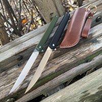 Wholesale pen knives resale online - SAMSEND original magic pen knife C blade bearing folding knife self defense mini knife