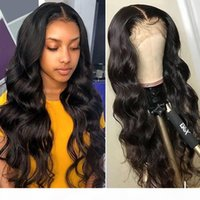 Wholesale human hair lace wig 32 inches for sale - Group buy YYONG inch x6 x4 Lace Front Human Hair Wigs For Black Women Remy Malaysian Body Wave x4 Closure Wig Low Ratio