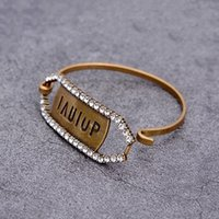 bracelet women dog 2021 - hot sale Fashion jewelry Love Bracelt Women dog tag Bangle with diamond Letter Stamps brass material Designer Bracelets pearl