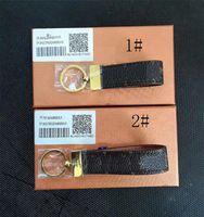 2019 High qualtiy Keychain Key Ring Holder key chain Porte Clef Gift Men Women Souvenirs Car Bag Keychain with box