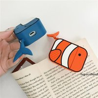 Wholesale samsung bluetooth airpods online – Desginer Airpods Pro Storage Case Cute Whale Brand PVC Soft Case Airpods Bluetooth Earphone Protective Box Styles