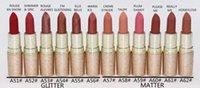 Wholesale red lipstick names resale online - 2020 HOT New Makeup Red Mini Mattes Liquid Lipsticks g colors English name