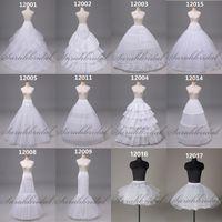 In Stock Available Long Short Petticoat Ball Gown Mermaid Bridal Prom Dress Crinoline Underskirt Wedding Accessory Undergarment Bustle