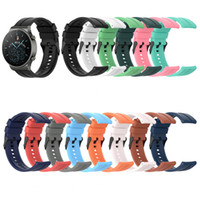 Wholesale samsung galaxy watches online – Silicone Replacement Straps Band For Huawei watch GT2 pro Samsung Galaxy Watch Active Universal Wrist Strap Band