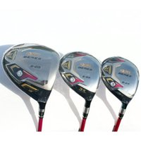 Wholesale womens golf clubs for sale - Group buy New womens Golf clubs HONMA S star driver fairway wood graphite Golf shaft cover Golf wood set
