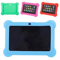 Wholesale Kids Tablet PC inch Quad Core Children Tablet Android WiFi Camera Bluetooth RAM GB ROM