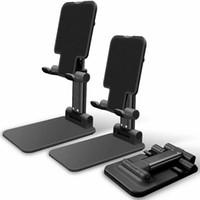 Wholesale phone holder desktop stand online – Adjustable Universal Tablet Stand for Mobile Phone iPad Desktop Holder Mount Tablet Phone Holder