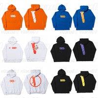 Hoodie Fashion Men Women Designer Hoodies High Quality Blue Orange Purple Mens Streetwear hooded Sweatshirt Size S-XL