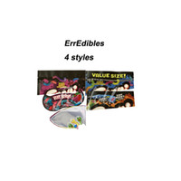 420 E edibles packaging mylar bags for gummi Sour brite crawlers Package Bag Sou terp Very berry Twist clow worms gum wonk ank edible myla packages