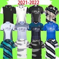 2021 2022 Fiji RUGBY LEAGUE JERSEY World Cup Sevens Sweater Hero Vintage souvenir Edition vest Children Set training wear T shirt POLO MENS Word 21 22 S-5XL kit