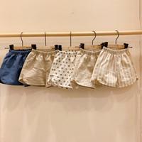 LZL New Korean INS Baby Kids Girls Shorts Unisex Girls Spring Summer Boys Polka Dot Cotton Shorts Pants