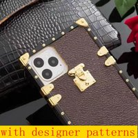 designer fashion phone cases for iphone 13 pro max 12 Pro Max 12 MINI 11 XR XS Max 7 8 plus PU leather Phone cover for samsung S20 s10 plus NOTE 8 9 10