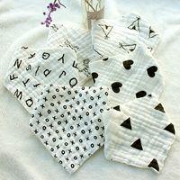 31 style high quality baby bibs lunch Bibs  Towel Saliva Baby Kids Infants 8 layers of gauze Burp Cloths T10I52