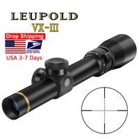 LEUPOLD 1.5-5X20 Mil-dot Reticle Sight Rifle Scope Tactical Riflescopes Hunting Scope Sniper Gear for Rilfe Air Gun