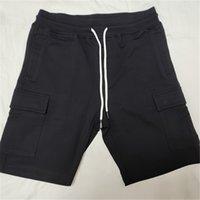 topstoney 2021 summer mens cotton jogging shorts solid casual beach pants fashion sports mens shorts