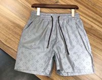 JJ men fashion designer waterproof fabric summer men shorts brand clothing swimwear nylon beach pants swimming board shorts