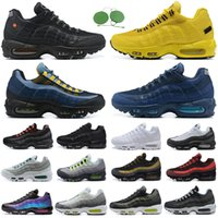 95s men running shoes 95 triple black white Neon Sean Wotherspoon Greedy Laser Fuchsia Clear Overlays mens women trainers outdoor sports sneakers