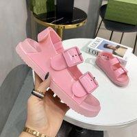 2021 Summer fashion Beach high quality Ladies Sandals comfortable Rhinestone Platform Wedges Women Shoes Footwear Gladiator Open Toe Slides with box size 35-42