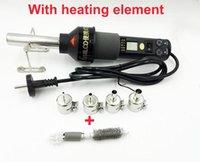 Wholesale bga station soldering resale online - Professional Heat Guns Adjustable Digital Air Gun Soldering Desoldering Solder Station SMD BGA LCD heating V LCD