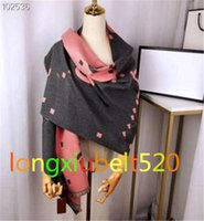 Winter fashion designer women's scarves new arrival men women's shawl double-sided scarf letter scarf size 190x65cm top quality