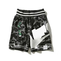 Fashion Mens Shorts Designer Summer Beach Pants Young People Students Camouflage Pattern Print Loose Streetwear Size M-2XL